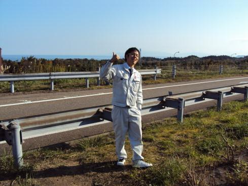 Ogawasan und ich auf Geschaeftsreise. 8 tage in Japan