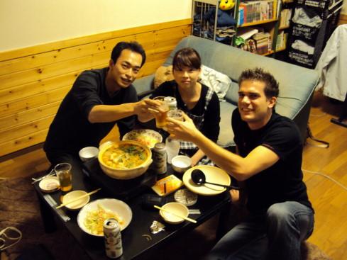 Syoji und seine freundin Keiko. 2 Wochen in Japan